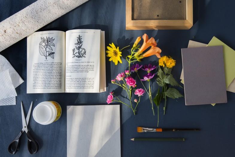 Zagreb, 23.09.2016 - Andeja Coh vrtlarica i blogerica napravila je u fazama herbarij kao knjigu